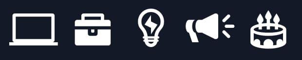 creation icones personnalisées