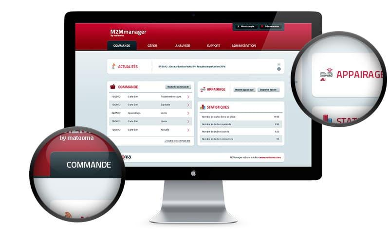 interface app web