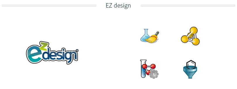création logo et icones eZdesign