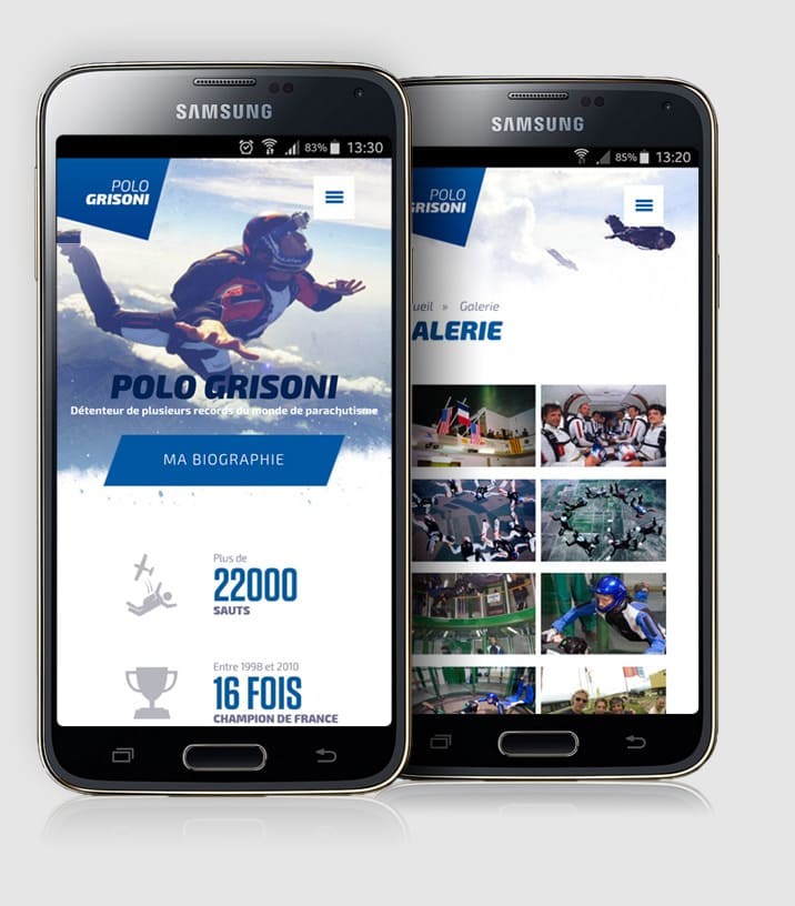 creation site mobile